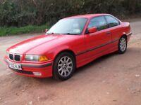 BMW 328i Coupe. E36. 1997(P). Immaculate. Budding classic!