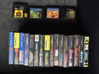 Sega mega drive and 20 games, all leads and controllers gwo