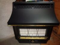 Little used Valor Black Beauty Model 349 Radiant convector gas fire.