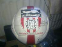 signed sunderland football
