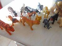 Farm Animals & Wild Animals (plastic)