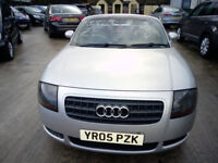 Audi 1.8 TT Convertible Roadster 150 BHP with Electric Roof, Ideal Christmas Gift!