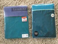 Single bed duvet set and single bed duvet cover- both brand new