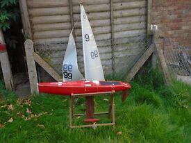 Mandarin remote control sailing yacht.