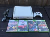 Xbox 360 console and driving games