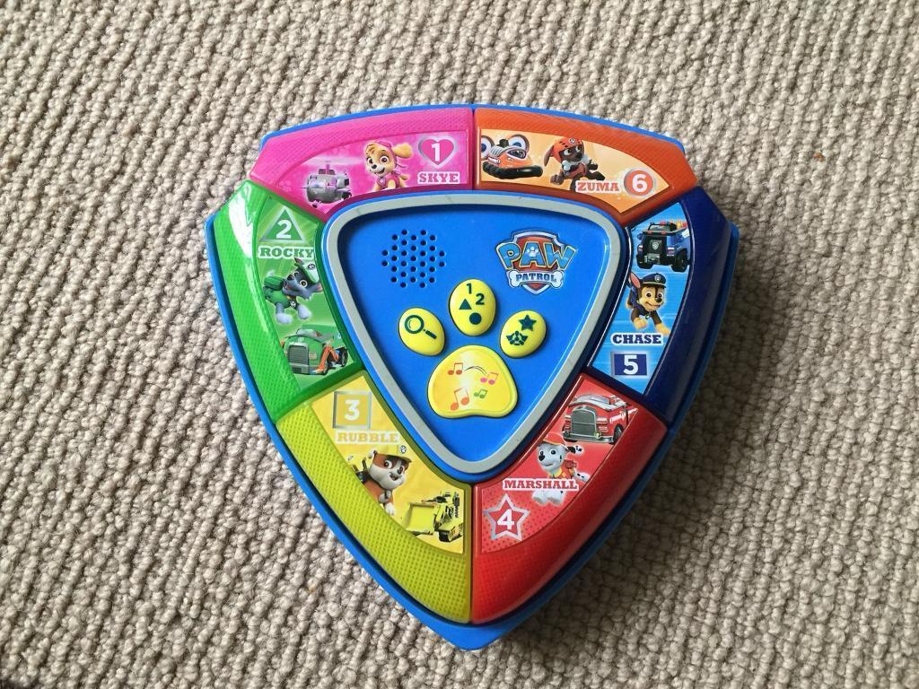 Paw Patrol Interactive Toy SOLD STC
