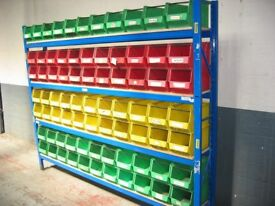 ALL STORAGE BINS / LIN BINS WANTED!! CASH PAID! (PALLET RACKING , STORAGE )