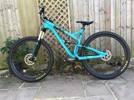 Yeti SB95 29er Full Suspension Mountain Bike for sale. Open to reasonable offers.