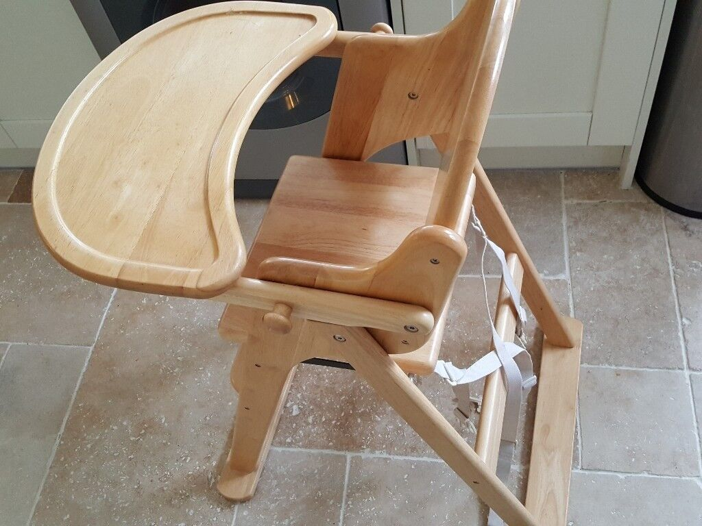 Mothercare Valencia Wooden Highchair natural | in Poole, Dorset | Gumtree