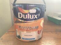 Dulux Easycare Washable Tough Matt Paint for Walls & Ceilings - Polished Pebble Grey 2.5litres