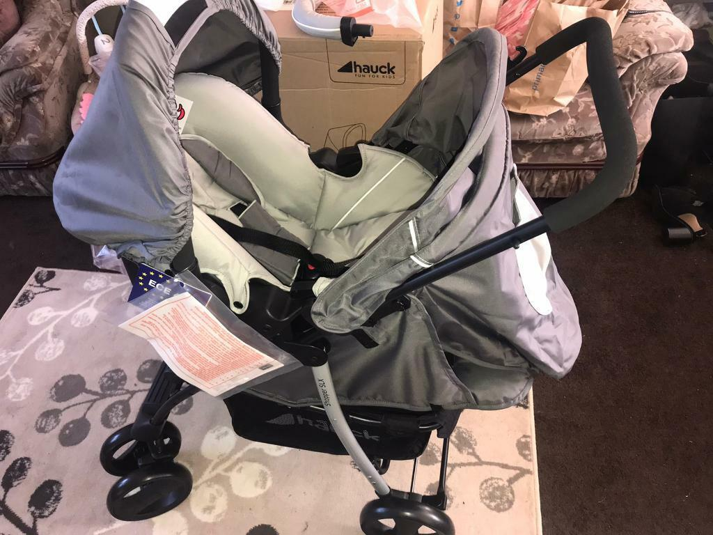 Brand new 3 in 1 travel system grey stone buggy