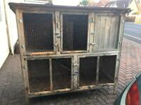 HUGE HUTCH FOR RABBITS FERRETS OR GUINEA PIGS