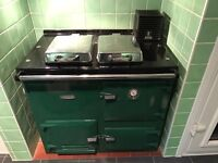 Rayburn Nouvelle Gas Fired Cooker/Central Heating Boiler