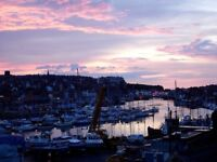 Whitby holiday cottage overlooking Marina short walk to town and beach.