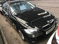 BMW 320D 2007 DIESEL ** 6 SPEED MANUAL ** PARKING SENSORS ** 12 MONTH MOT