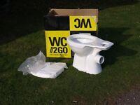 Toilet and Toilet Seat (New)
