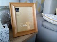 Wood Frame ( Oak) New unwanted gift