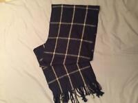 2 x Checked Scarves