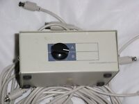 1 Monitor to 2 PC 2 port SVGA VGA HD15 Manual Switch Box