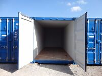 Self Storage Sheffield 20 Foot Container £25 a week no hidden charges £100 for a Month
