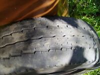Transit tyre, 195/70R15C, 2-3mm tread, cheap REDUCED TO £1 ONLY - BE QUICK!