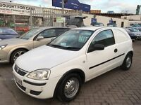 2005 55 VAUXHALL CORSA VAN 1.3 CDTI CHEAP BARGAIN RUNNER SMALL VAN IDEAL FOR SMALL JOBS NEW MOT !!!