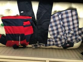 Boys Clothes Age 18 months Ralphy Top, Burberry Trousers, 2-3 years Ted Baker shirt. All originals.