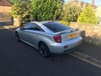 Toyota Celica 1.8 VVT-i Silver 53-Reg NEW 12 Months MOT Leather Timing Chain £950