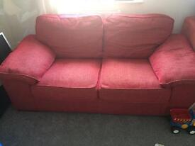 Cargo 2 seater fabric sofa