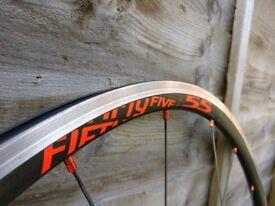 Fulcrum Racing 55 LG road bike wheels Shimano Freehub