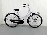 z 🚲Beautiful OMAFIETS Dutch City Bike Single Speed M Size Warranty 28 inch wheels Front Rack 🚲🚲