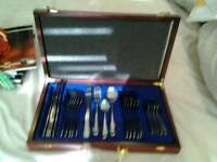 Cutlery set new in a case