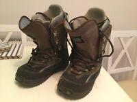 Burton Ruler snowboard boots size 8