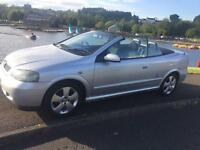 05 reg Astra cabriolet 1.6 full Years Mot ideal summer car low miles !66k