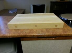 Chopping block / butchers block .chunky piece