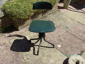 Leabank Vintage Office Swivel Chair.