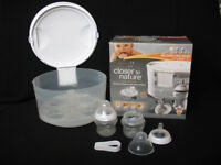 Tommee Tippee Closer To Nature – 2 in 1 Microwave Steam & Cold Water Steriliser