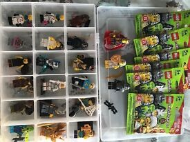 Lego minifigures series 13, 14, 15, 16 and disney will swap