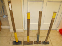 Selection of Used Sledge Hammers £10 Each 16,14 and 7lb.Collection South Birmingham