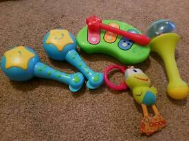 Various baby toys for sale