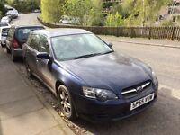 Subaru Legacy auto estate spares or repair