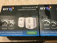 Mini WiFi home hotspot 600 kit x 2