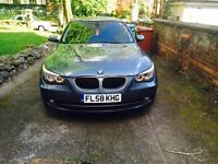2008 (58) BMW 520D SE grey BLUE GREAT CONDITION inside out