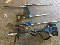 52 cc 5in1 cutting multi tool garden set strimmer chainsaw trimmer bush cutter