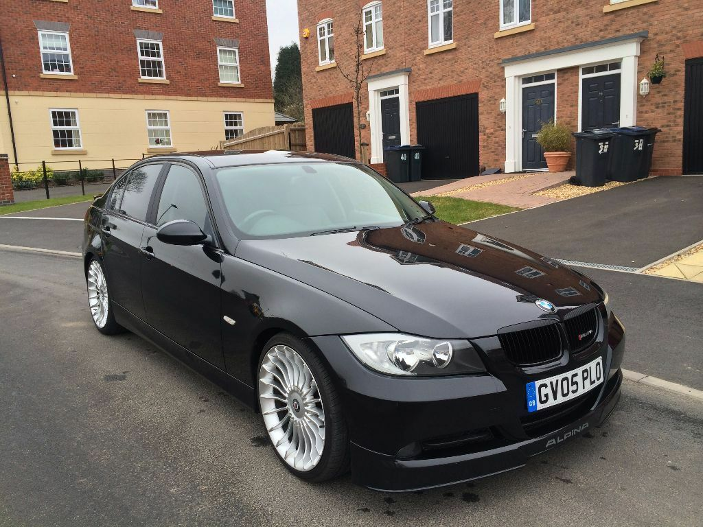 bmw 320d d3 alpina spec black 2005 e90 leather sat nav not msport m sport e60 330d 335d coupe m3. Black Bedroom Furniture Sets. Home Design Ideas