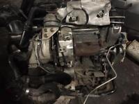 Vw golf mk7 1.6 tdi CRK complete engine 23k Audi A3 8v skoda seat Leon 2013-2017