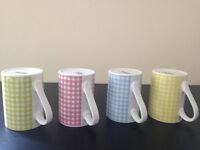 Coloured Tea Coffee Mugs