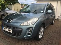 07/57 PEUGEOT 4007 2.2 GTI 156BHP 6 SPEED 4X4 7 SEATER CROSSOVER SUV