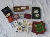 Job Lot of Various Playing Cards, Dominoes etc. Some Vintage Items.