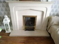 Marble Fire Surround (Fire Not Included)